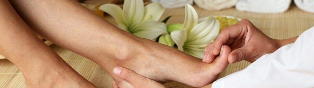 avantages massage de pieds